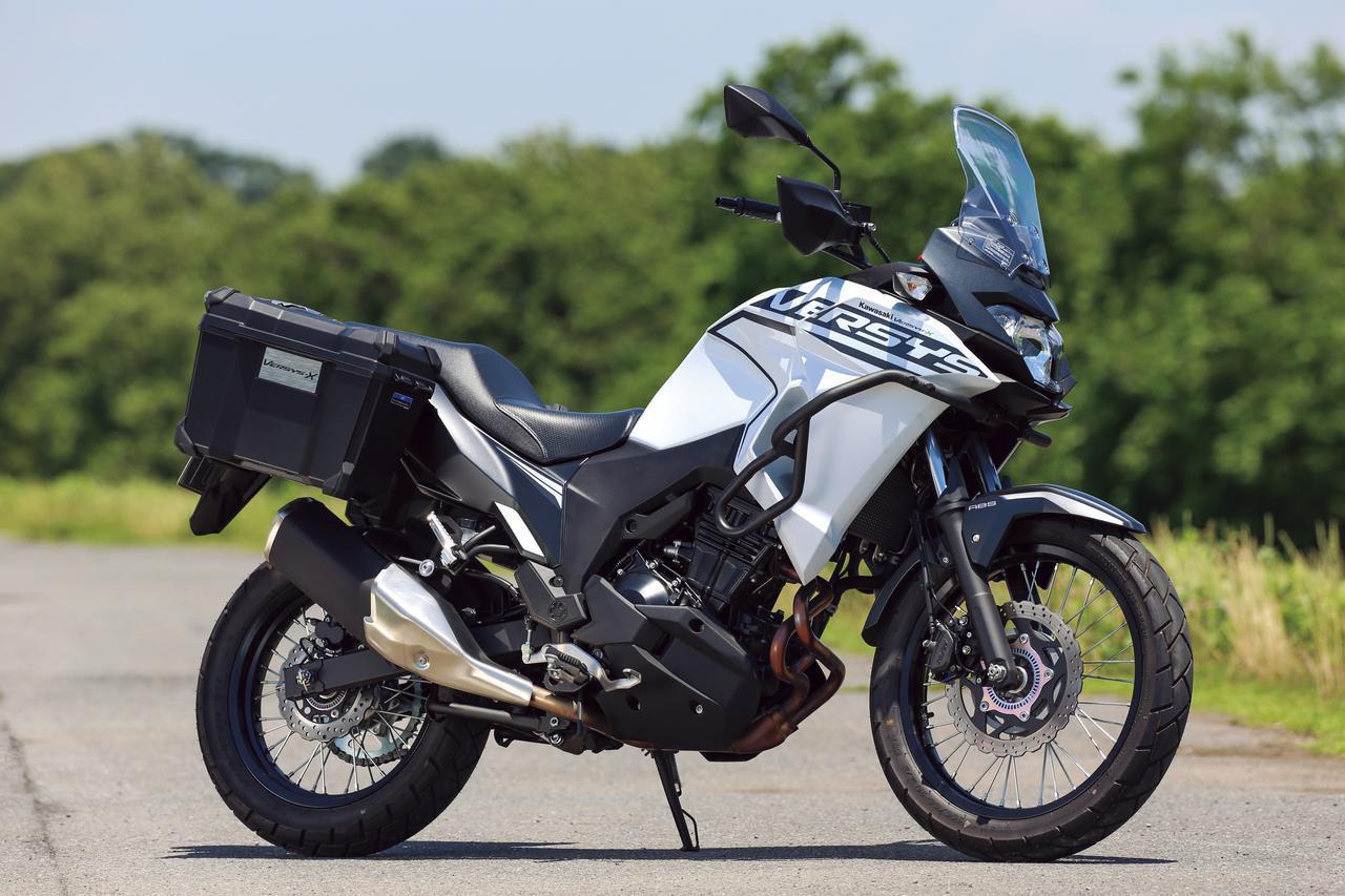 Images : 2番目の画像 - 250ccアドベンチャーバイク - webオートバイ