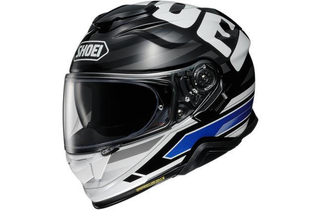 画像: 頭頂部におっきくSHOEI! インナーバイザー搭載のフルフェイスヘルメット「GT-AirII」の最新グラフィック〈INSIGNIA〉 - webオートバイ