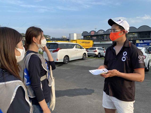画像: 全日本ロードレースの開幕戦、SUGO大会のレース終了後にパドックで展開図をお渡しさせて頂きました!
