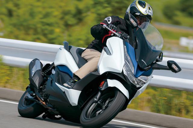 画像: ホンダ「フォルツァ」【試乗インプレ・車両解説】(2020年)現行で5代目! 前モデルから大きく変わった装備と走行性能 - webオートバイ