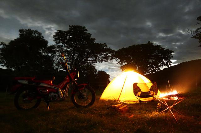 画像2: 絶景キャンプ場で過ごすひとりの夜