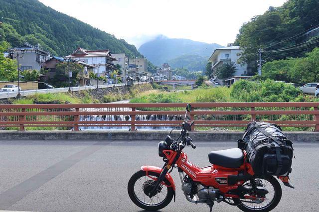 画像: 途中で通った渋温泉周辺。