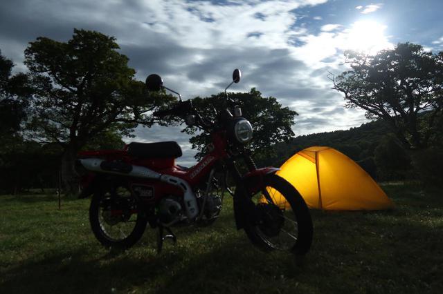 画像4: 絶景キャンプ場で過ごすひとりの夜