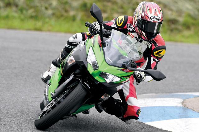 画像1: 【カワサキ Ninja250 編】チュートリアル福田充徳さんが250ccスポーツバイクを乗り比べ!〈サーキット試乗インプレ〉 - webオートバイ