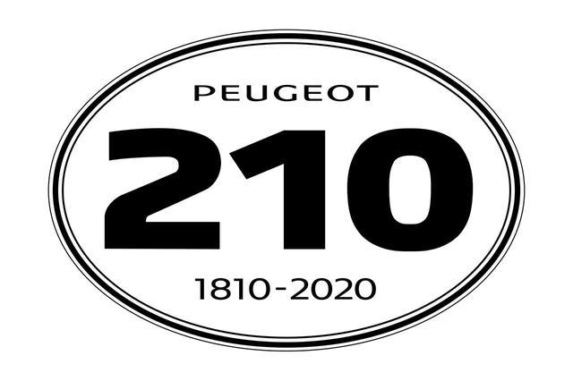 画像: 1810年から始まった、プジョー210年の歴史を示すデカールがデザインされています。
