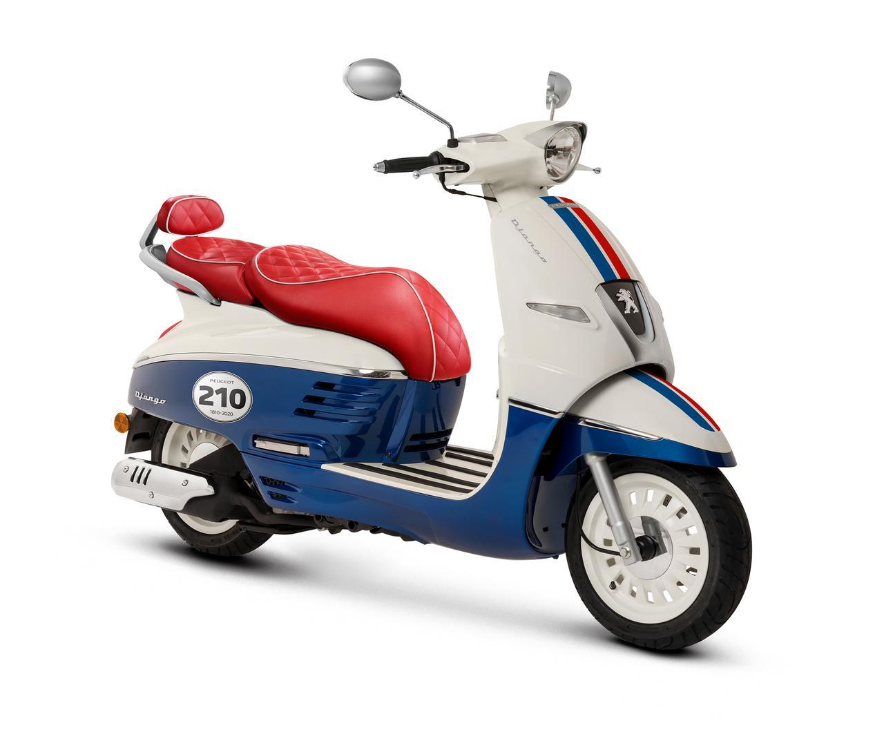 Images : 13番目の画像 - 「ジャンゴ 125 ABS 210周年リミテッドエディション」の写真を見る - LAWRENCE - Motorcycle x Cars + α = Your Life.