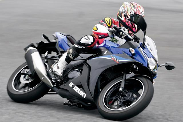 画像1: 【スズキ GSX250R 編】チュートリアル福田充徳さんが250ccスポーツバイクを乗り比べ!〈サーキット試乗インプレ〉 - webオートバイ
