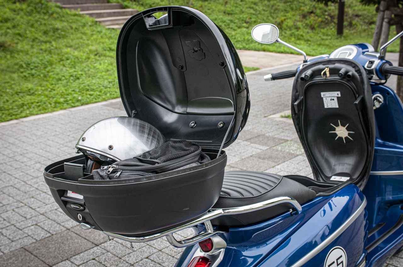 画像2: 【お値打ち車両の選び方】原付二種&軽二輪スクーターをお探しなら、オシャレなのに便利な「プジョー・ジャンゴ スポーツ」を選べば間違いナシ!《Webオートバイ特別限定車は9月30日まで!》