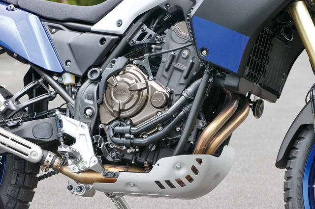 画像: MT-07系のCP2エンジンを採用。トラクションコントロールやパワーモードなどは備えていないが、扱いやすく優しいフィールが特徴。