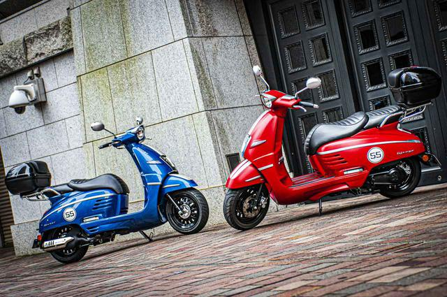 画像: ◼️ジャンゴ125スポーツツーリング:39万3800円(125cc)◼️ジャンゴ150スポーツツーリング:42万1300円(150cc)※カラーは両モデル共にブルー、レッドが選べます。