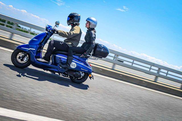 画像1: 原付二種免許で乗れて保険や維持費も安い125cc