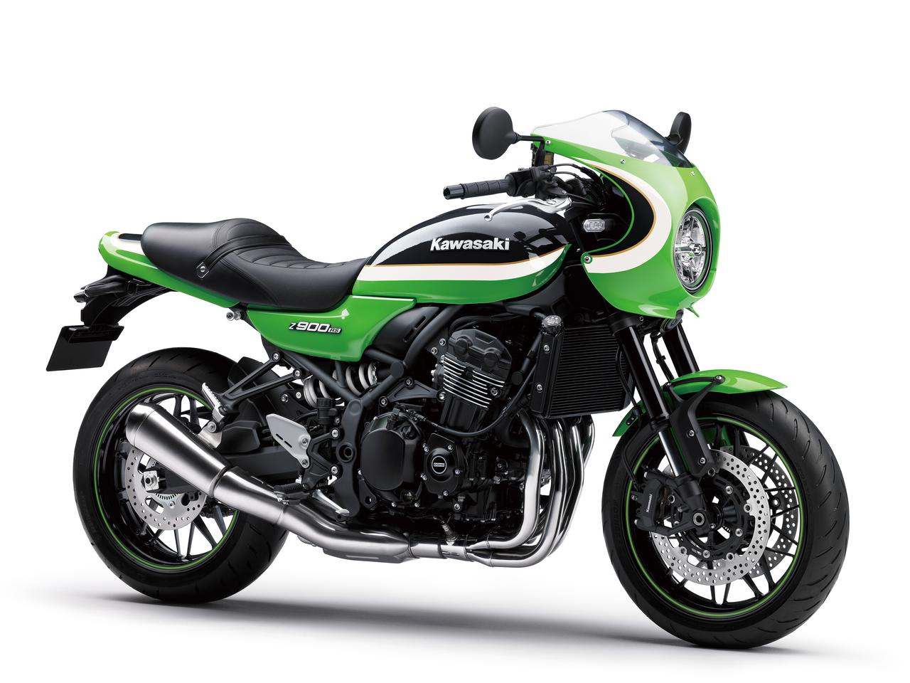 画像17: カワサキが「Z900RS CAFE」の新色を発売! Z900RSシリーズの2021年モデルと2020年モデルを比較してみよう【2021速報】