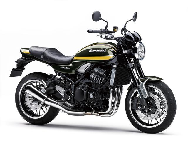 画像13: カワサキが「Z900RS」「Z900RS CAFE」の2021年モデルを発表! 2020年モデルとのカラーを比較してみよう
