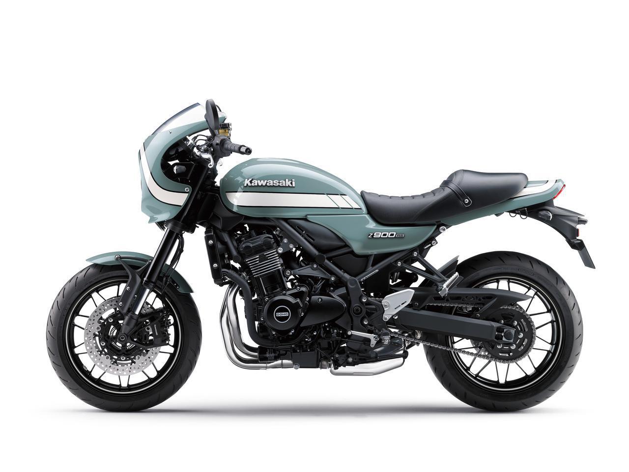 画像11: カワサキが「Z900RS CAFE」の新色を発売! Z900RSシリーズの2021年モデルと2020年モデルを比較してみよう【2021速報】