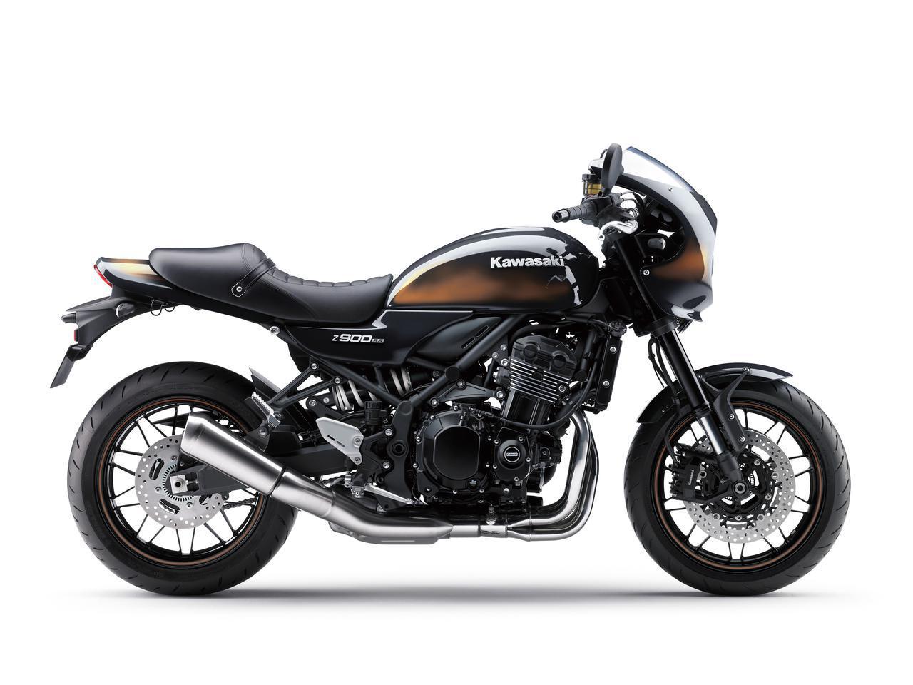画像8: カワサキが「Z900RS CAFE」の新色を発売! Z900RSシリーズの2021年モデルと2020年モデルを比較してみよう【2021速報】