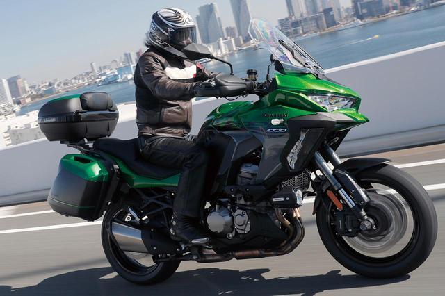 画像: カワサキ「ヴェルシス1000 SE」の魅力を簡単解説! 高性能な電子制御サスペンションがロングツーリングに貢献 - webオートバイ