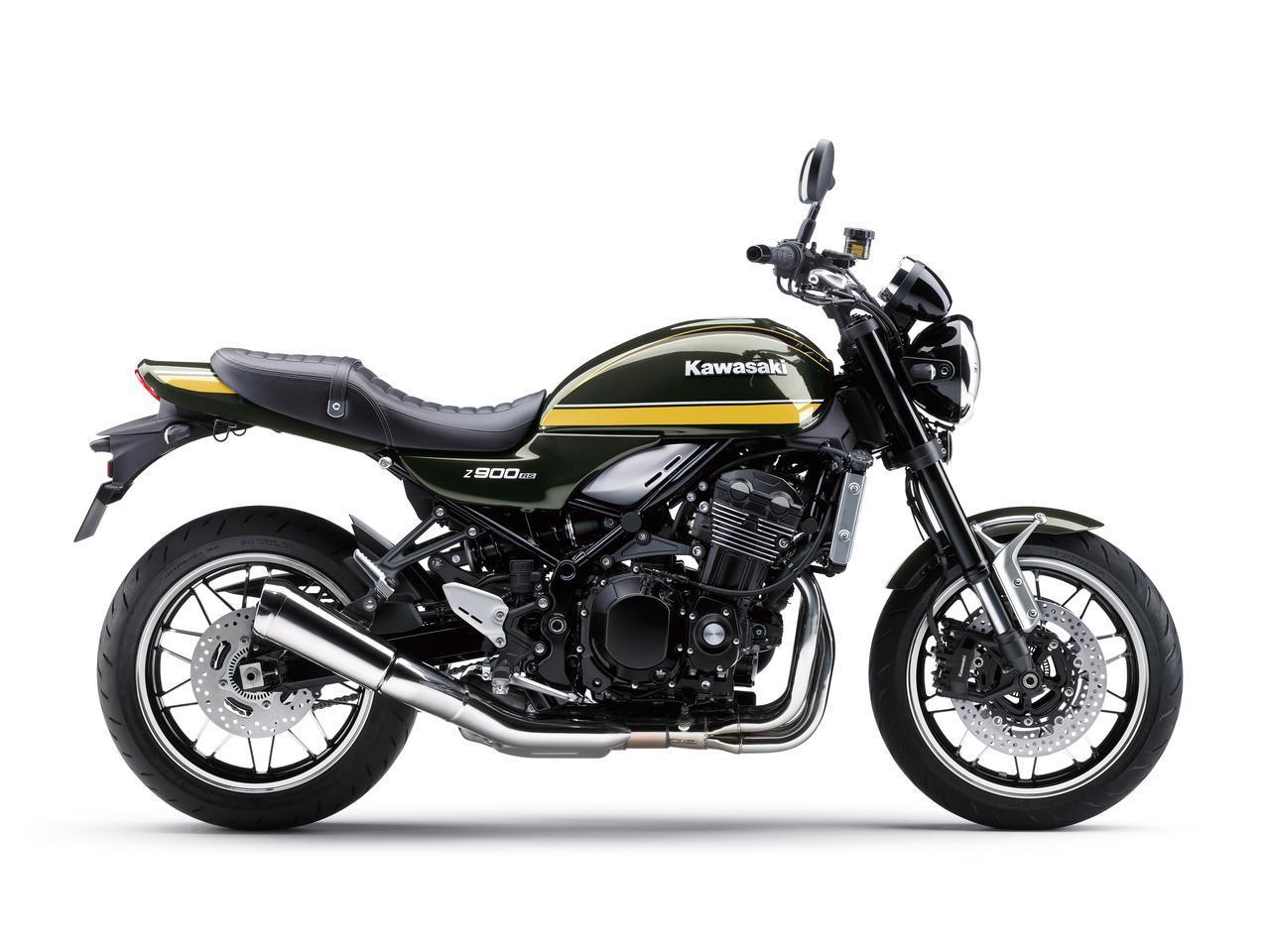 画像2: カワサキが「Z900RS CAFE」の新色を発売! Z900RSシリーズの2021年モデルと2020年モデルを比較してみよう【2021速報】
