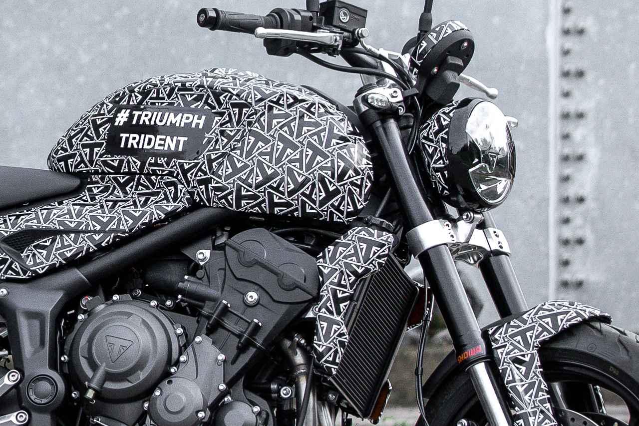Images : 2番目の画像 - トライアンフ「トライデント」の写真を見る! - webオートバイ