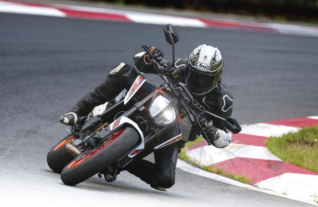 画像2: KTM「890 DUKE R」試乗インプレ(宮崎敬一郎)