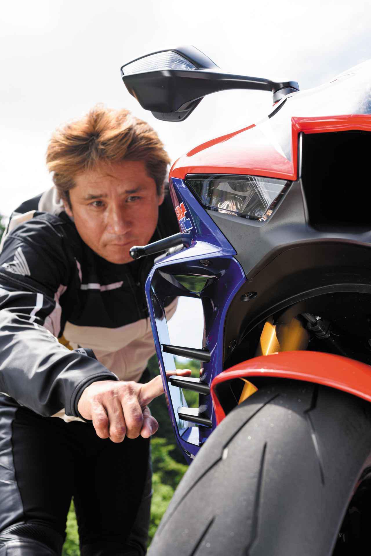 画像2: 伊藤真一さんが語るホンダ「CBR1000RR-R FIREBLADE SP」開発インサイドSTORY ライダーとして、使える高性能を突き詰めた。レーサーとして、勝てる戦闘力を現実にした。