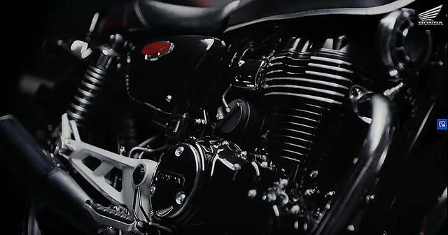 画像1: 搭載エンジンは空冷シングル。なんとHSTCも装備!
