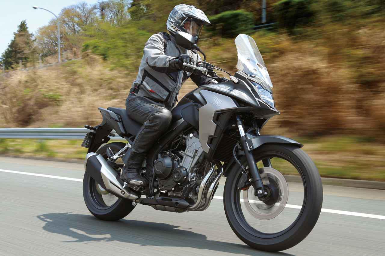 画像: ホンダ「400X」普通二輪免許で乗れるアドベンチャー・ツアラーの魅力を簡単解説! - webオートバイ