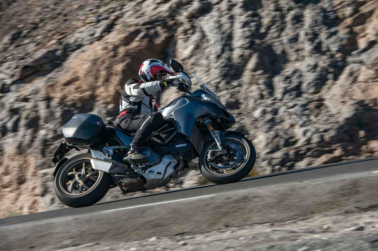 画像: 【試乗インプレ】エンジン排気量を拡大して、電子制御をさらに強化!【DUCATI Multistrada 1260/S/Pikes Peak】(2018年) - webオートバイ