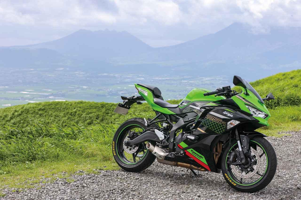 Images : 1番目の画像 - Kawasaki Ninja ZX-25R SE/ライダー:太田安治 - webオートバイ