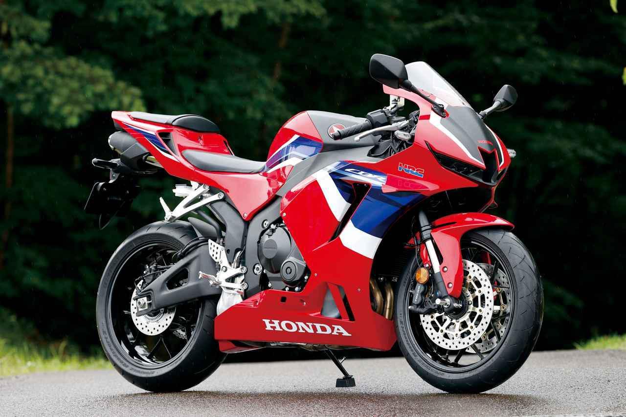 画像: Honda CBR600RR 総排気量:599cc エンジン形式:水冷4ストDOHC4バルブ並列4気筒 発売日:2020年9月25日 メーカー希望小売価格:160万6000円(消費税10%込)