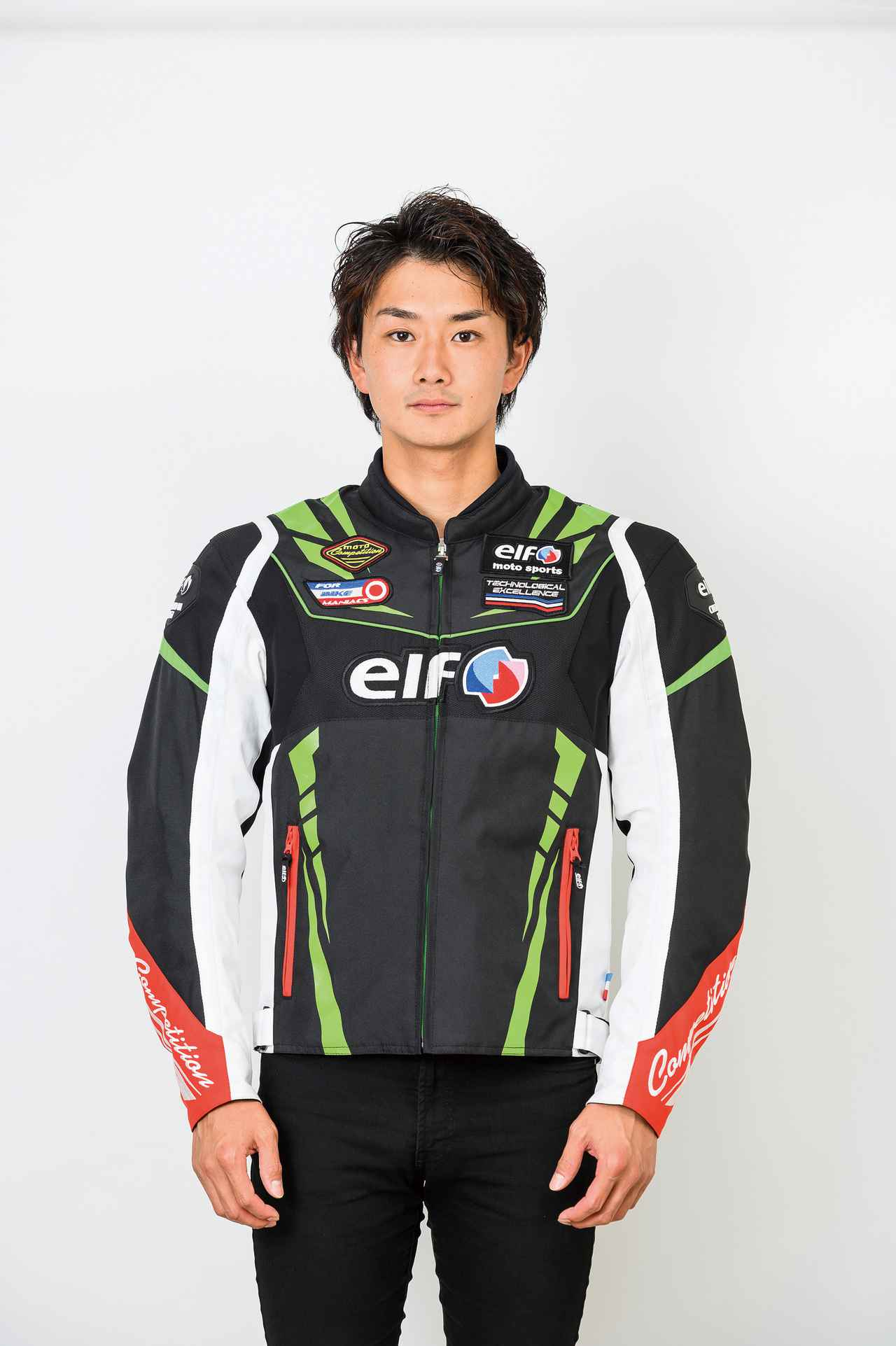 Images : 4番目の画像 - elf「EJ-W109 ヴィットリアスポルトジャケット」 - webオートバイ