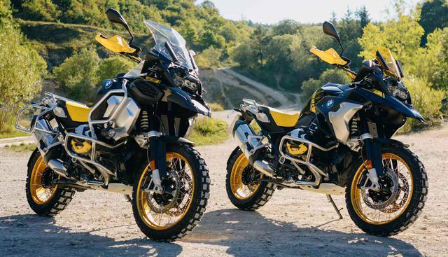 画像: (左)「R 1250 GS Adventure」Edition 40 Years GS (右)「R 1250 GS」Edition 40 Years GS