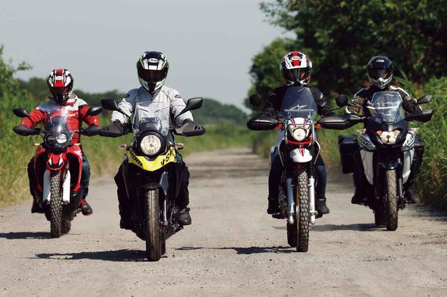 画像: 250ccアドベンチャーバイクのオフロード性能を比較インプレ! CRF250ラリー/Vストローム250/ツーリングセロー/ヴェルシスX250ツアラー(2020年) - webオートバイ