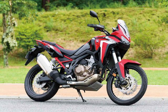 画像: Honda CRF1100L AfricaTwin 総排気量:1082cc エンジン形式:水冷4スト並列2気筒SOHC(ユニカム)4バルブ メーカー希望小売価格:161万7000円(DCT仕様・172万7000円)