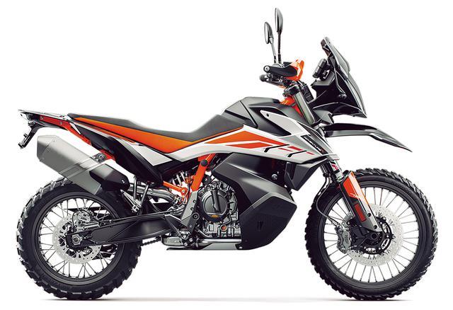 画像: KTM「790 ADVENTURE R」/価格:162 万6000 円(税込)