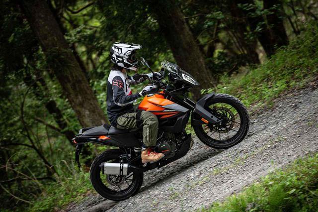 画像: 390らしからぬ余裕と、シャープなレスポンス。KTM390アドベンチャー試乗記 - webオートバイ