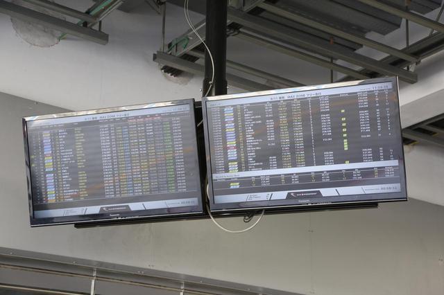 画像2: データ計測できているか、ピットインして確認を!