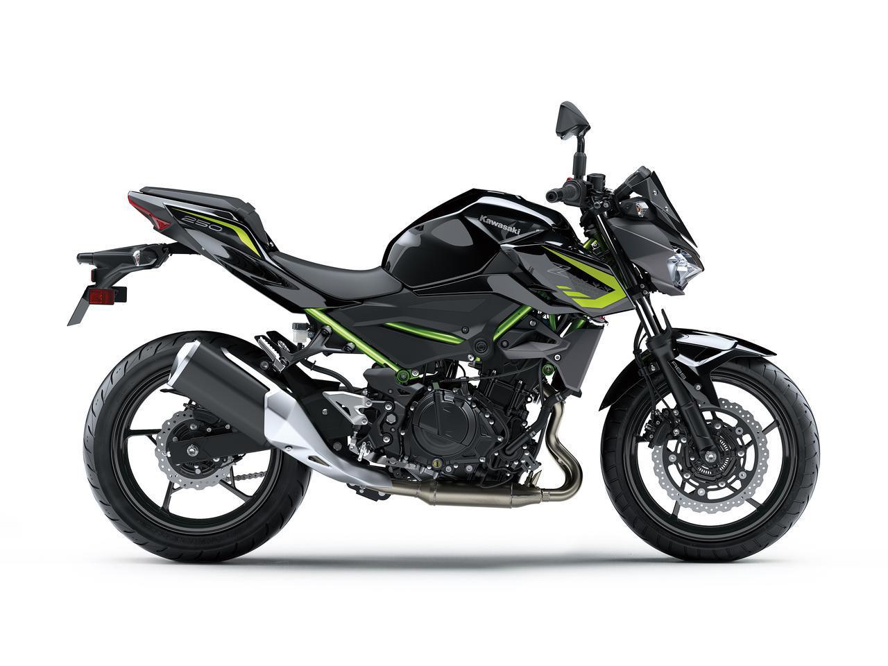 画像10: カワサキが「Z250」の2021年モデルを発売! 2020年モデルと比較してみよう【2021速報】
