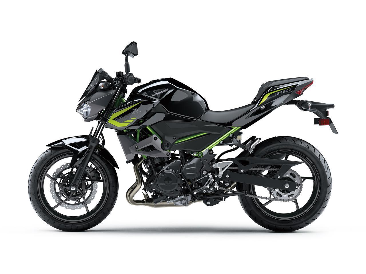 画像9: カワサキが「Z250」の2021年モデルを発売! 2020年モデルと比較してみよう【2021速報】