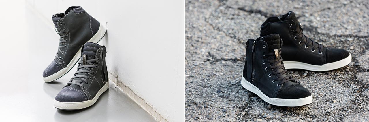 画像4: ガエルネの名作スニーカーの最新モデルが日本上陸! 本革×防水でプロテクターも搭載した「ボヤージャーCDG GORE-TEX」