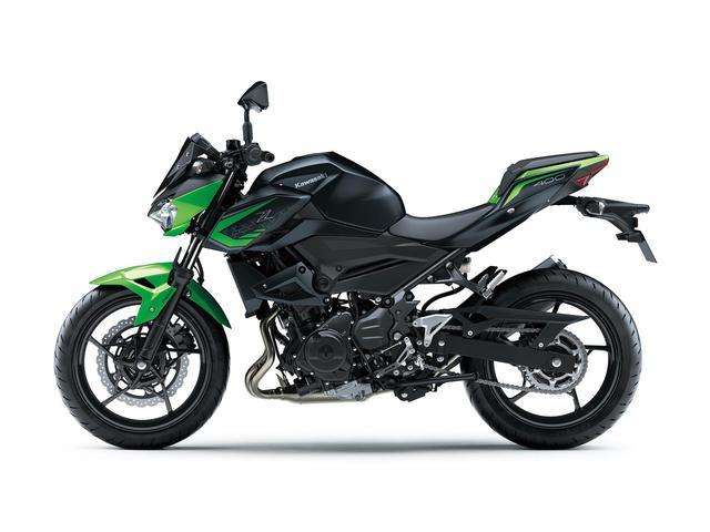 画像2: カワサキが「Z400」の2021年モデルを発売! ライムグリーンが再び登場【2021速報】