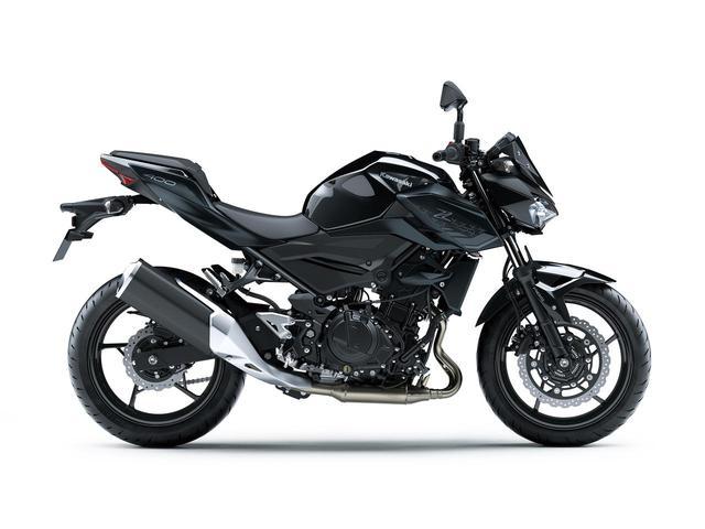 画像6: カワサキ「Z400」の2021年国内モデルが登場! 2020年モデルと比較してみよう【2021速報】
