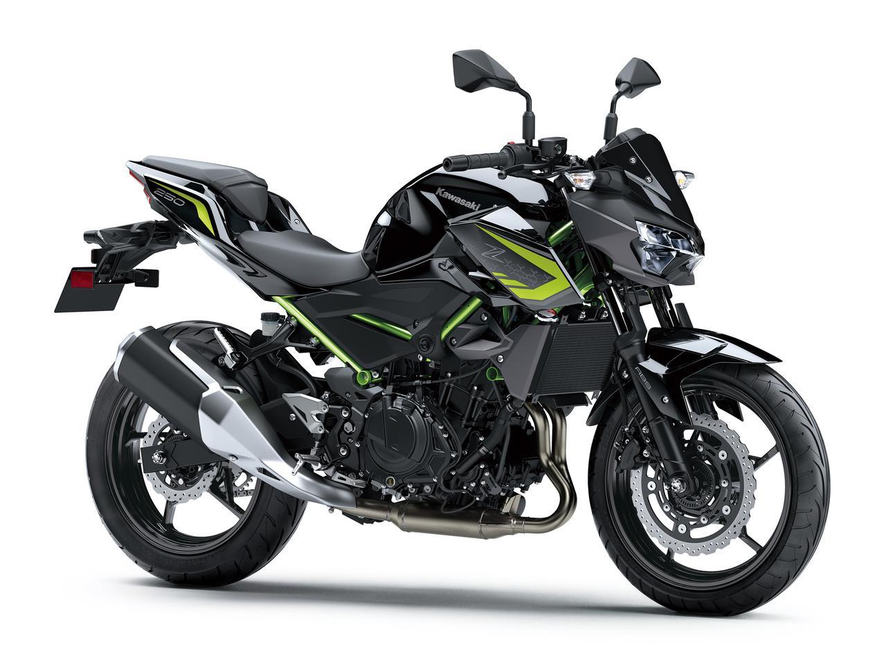 画像16: カワサキが「Z250」の2021年モデルを発売! 2020年モデルと比較してみよう【2021速報】