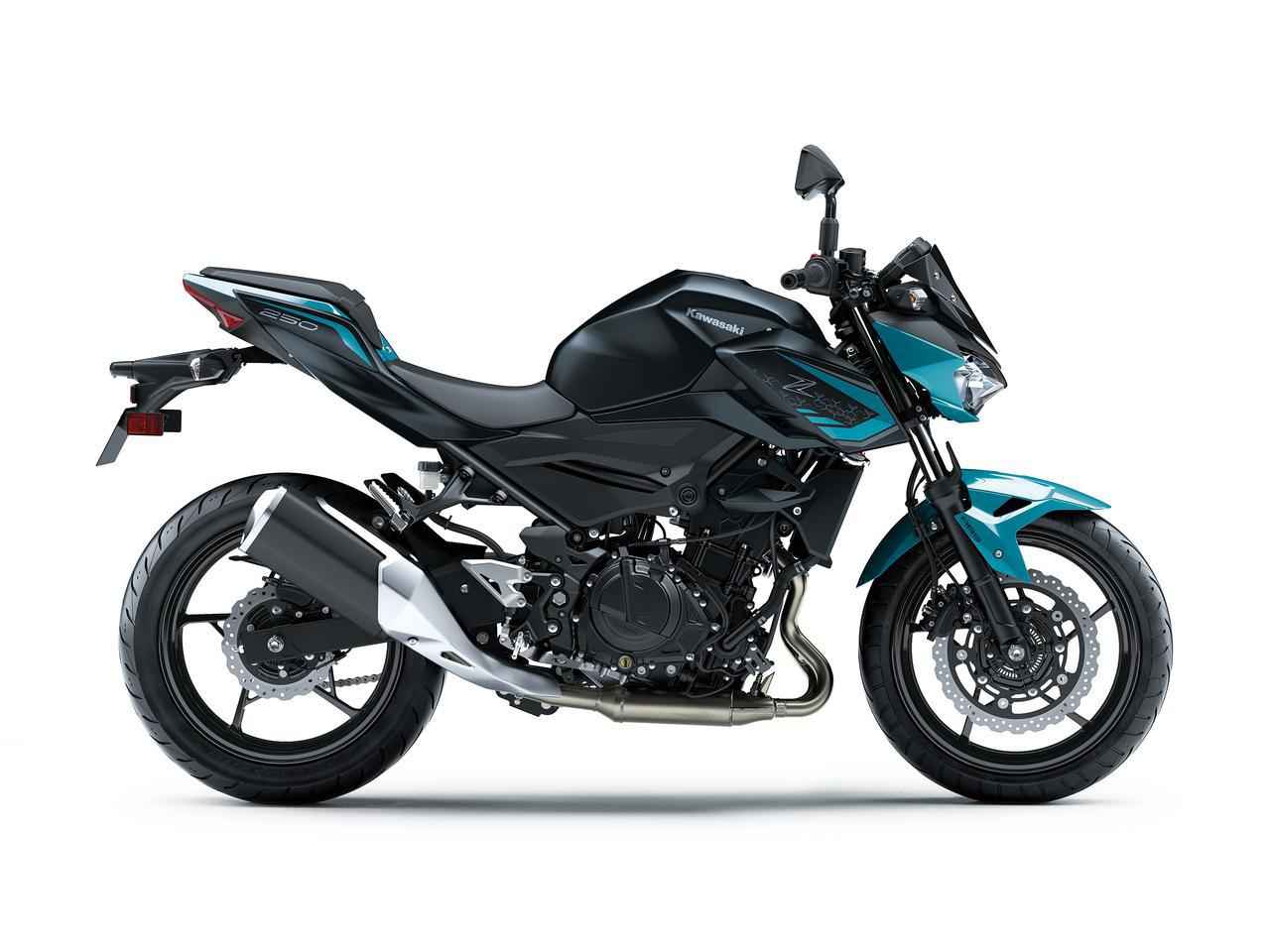 画像3: カワサキが「Z250」の2021年モデルを発売! 2020年モデルと比較してみよう【2021速報】