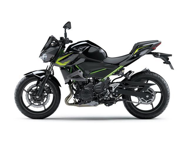 画像9: カワサキ「Z400」の2021年国内モデルが登場! 2020年モデルと比較してみよう【2021速報】