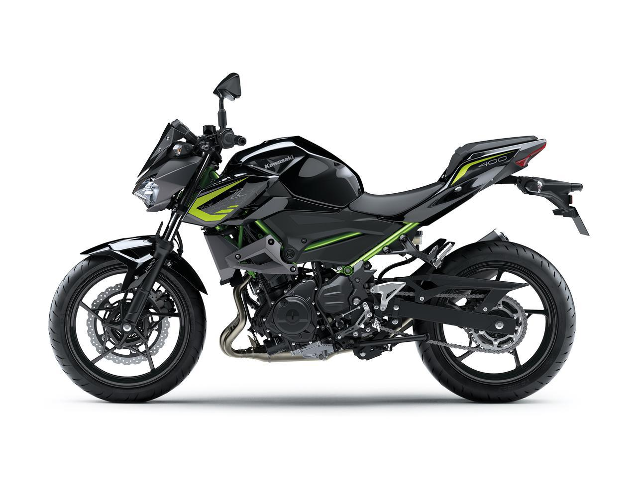 画像9: カワサキが「Z400」の2021年モデルを発売! ライムグリーンが再び登場【2021速報】