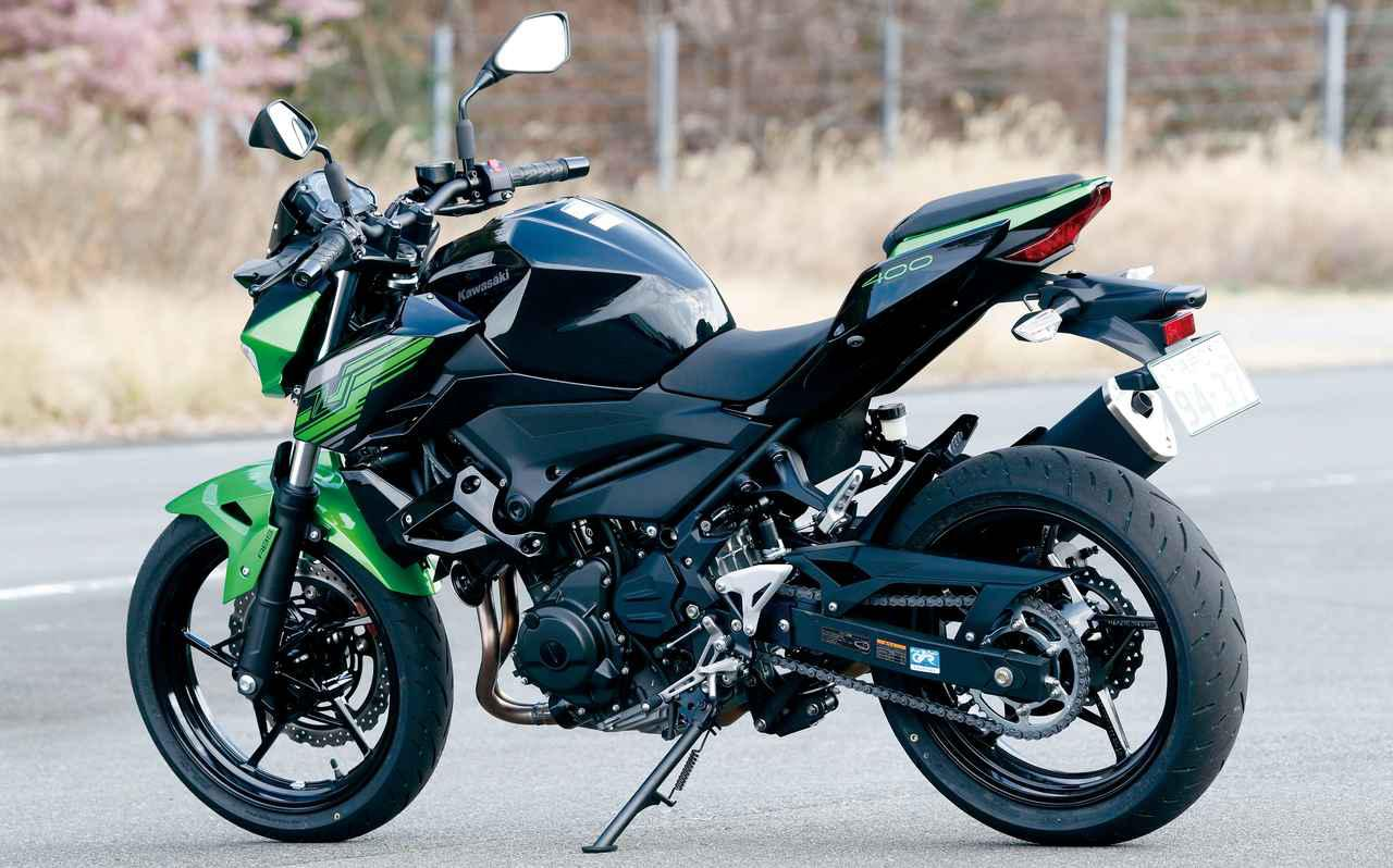 画像: 令和元年は400cc復権元年か? 軽快さとパワフルさを両立したカワサキ「Z400」を公道走行インプレ! - webオートバイ