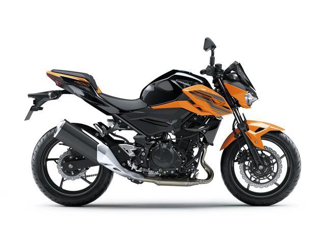 画像13: カワサキ「Z400」の2021年国内モデルが登場! 2020年モデルと比較してみよう【2021速報】