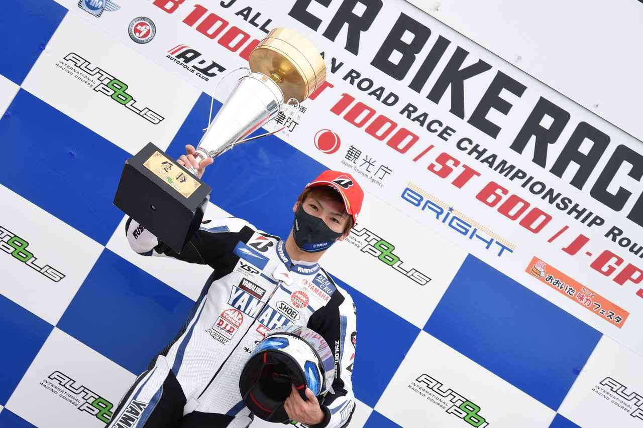 画像: 2020年全日本ロードレースはここまで2戦4レース全勝!チャンピオン候補大本命です