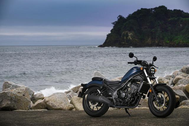 画像: Honda Rebel 250 総排気量:249cc エンジン形式:水冷4ストDOHC4バルブ単気筒 メーカー希望小売価格:59万9500円(税込) 2020年モデルの発売日:2020年3月19日
