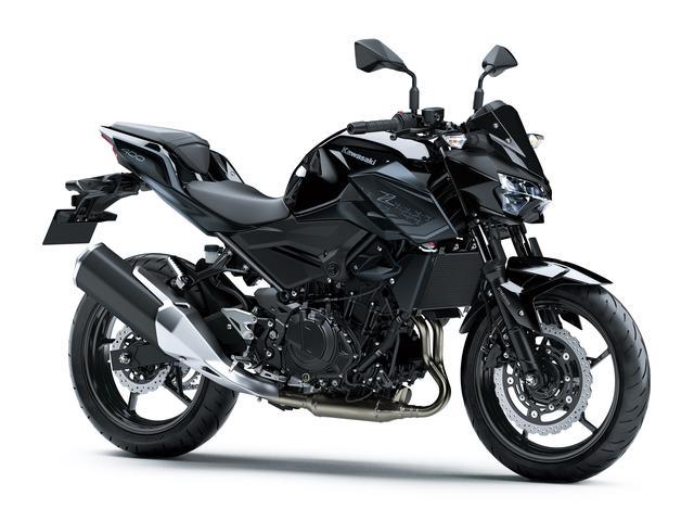画像16: カワサキ「Z400」の2021年国内モデルが登場! 2020年モデルと比較してみよう【2021速報】